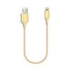 Ttec Alumicable Mini 30cm iPhone Şarj Kablosu - Altın