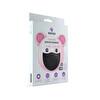 MediFash Aura Junior-Black TSE K599 Belgeli %90 Bakteri Filtresi 3 Katmanlı Fiber Kumaş Ayarlanabilir Kulak Aparatı Burun Telli Tekli Paket 60 Derecede Yıkanabilir Çocuk Maskesi