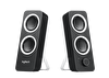 Logitech 980-000810 Z200 Midnight Black Speaker