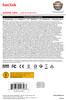 Sandisk Sdcz48-128G-U46 128GB Usb 3.0 Ultra 80Mb/S