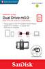 SanDisk Ultra Dual Drive m3.0 256GB Grey & Silver 150 MB/s