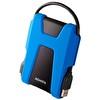 """ADATA 1 TB 2,5"""" HD680 Askeri Sınıf Şok Darbeye Korumalı Portatif Taşınabilir Disk Mavi"""