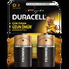 Duracell D Buyuk Boy Pil 2 Lı Kart (C)