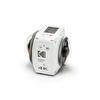 Kodak Pixpro 4KVR360 Beyaz - Standard Paket 360° Aksiyon Kamera (Çift Lens & 4K)