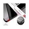 Preo Dayanıklı Ekran Koruma iPhone 8 (Ön-Arka) 4D Premium Siyah