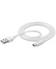 CELLULARLINE BEYAZ USB-C DATA KABLO - USBDATACUSBA-CW ( OUTLET )