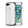 Ttec Chrome Clear iPhone 7 Plus Simsiyah Cep Telefonu Kılıfı