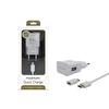 Powerway X-807 Beyaz 2.1A Hızlı Şarj Özellikli Ev Tipi Usb Şarj Cihazı & 1Mt Micro Usb Şarj Ve Data Kablosu