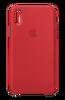 Apple MQT52ZM/A iPhone X Silikon Cep Telefonu Kılıfı - Kırmızı