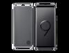 Samsung S9+ Clear Vıew Standıng Kılıf Siyah