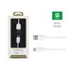 Powerway Ty-01 Beyaz Usb 2.0 Type-C Şarj&Data Aktarım Kablosu
