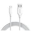 Anker Powerline 2M Micro Usb Kablo (Beyaz)