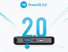 Anker Powercore II 10000 mAh Slim Siyah Taşınabilir Hızlı Şarjı Cihazı