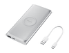 Samsung Gümüş Kablosuz Hızlı Şarj Aleti - EB-U1200CSEGWW
