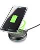 Cellularline Siyah Twist Ayarlanabilir Kablosuz Şarj Standı
