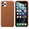 Apple iPhone 11 Pro Max Klasik Kahve Deri Kılıf MX0D2ZM/A