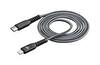 Cellular Line TETRACABC2LMFI1MK Force Usb-c Apple Lightning 120 cm Kevlar Siyah Kablo