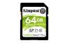 Kingston 64GB SDXC Canvas Select Plus 100R C10 UHS-I U1 V10