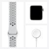 Apple Watch Nike Seri 6 40mm Silver Alüminyum Kasa ve Siyah Spor Kordon M00T3TU/A