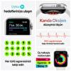 Apple Watch Seri 6 44mm Mavi Alüminyum Kasa ve Koyu Lacivert Spor Kordon M00J3TU/A