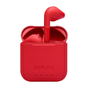 Defunc True Go Slim Gerçek Kablosuz Kulak İçi Kulaklık Bluetooth 5.0 IPX4 Kırmızı
