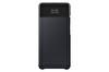 Samsung Galaxy A32 LTE Uyumlu S View Cüzdan Kılıf Siyah