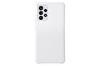 Samsung Galaxy A52 Uyumlu S View Cüzdan Kılıf Beyaz