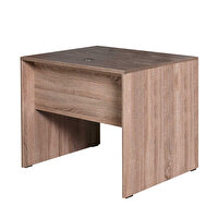 Adore Newyork NMS-512-LL-1 Ofis Masası Köşe İlave/PC Masası Latte