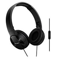 Pioneer Se-Mj503T-K Mikrofonlu Kulaküstü Kulaklık - Siyah