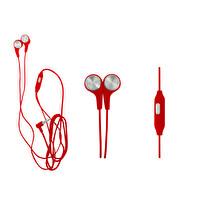 Preo My Sound MS19 Mikrofonlu Kablolu Kulak İçi Kulaklık Kırmızı