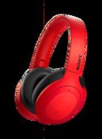 Sony WH-H910N Kablosuz Ses Engelleme Özellikli Kırmızı Kulak Üstü Kulaklık