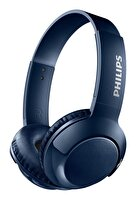 Philips SHB3075BL Kulak Üstü Mikrofonlu Kablosuz Kulaklık Mavi
