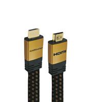 Goldmaster Cab-18 1.5M Altın Uçlu Siyah HDMI Kablo