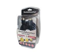 Goldmaster Cab-539 HDMI Kablo (5 Metre)Altın Uçlu -High Speed -3D- 1080P-Ferrıt Fıltre