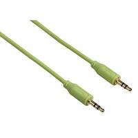 Hama 135782 3.5mm-3.5mm Yeşil 0.75M Flexi-Slim Altın Uç