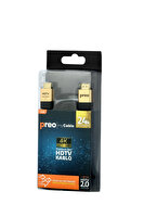 Preo My Cable MC25 2m Premium Hdmı Kablo