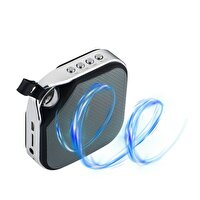 Goldmaster Enjoy Siyah 60 Radyolu Bluetooth Speaker
