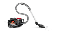 Bosch BGS41PRO Turbo Başlıklı Yıkanabilir Hijyenik Hepa  H13 Filtre Siyah/Kırmızı Toz Torbasız Süpürge