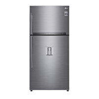 LG GR F802HLHU.APZPLTK A++ 631 Lt Sebilli Gri Buzdolabı