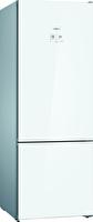 Bosch KGN56LWF0N Cam Glass Edition 559 Lt A++  Beyaz Alttan Donduruculu No-Frost Soğutucu Buzdolabı