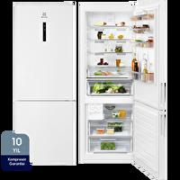 Electrolux LNT7ME46W2 A++ 510 Lt Beyaz Kombi Tipi No Frost Buzdolabı