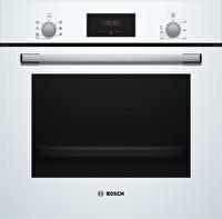 Bosch HBF113BV0T 6 PRG A Enerji Sınıfı 66 Lt Led Dokunmatik Ekran Beyaz Ankastre Fırın