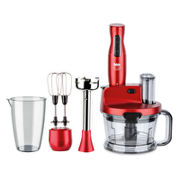 Fakir MR Chef Quadro Blender Set - Rouge
