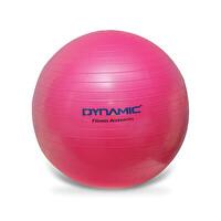 Dynamic Gymball 75cm Pilates Topu Fuşya