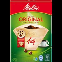 Melitta 1X4/80 Original Kahverengi NB AZ  2012 Filtre Kağıdı