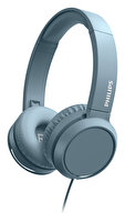 Phılıps TAH4105BL/00 Kulak Üstü Mikrofonlu Kablolu Kulaklık Mavi