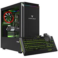 Casper Excalibur E600 Intel Core i7-10700K 16 GB RAM 1 TB HDD+ 240 GB SSD RTX 2070 8 GB Win 10 Home Siyah Desktop