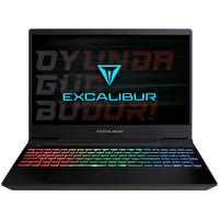 "Casper G770.9750-8EG0A Intel Core i7-9750H 2.6GHz 8GB 480GB SSD GeForce GTX1050 3GB GDDR5 15.6"" Excalibur Gaming Notebook"