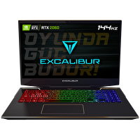 "Casper Excalibur G900 Intel 10.Nesil i7-1075 16GB RAM 500GB NVMe SSD 6GB RTX2060 15.6"" Win 10 Home Gaming Notebook"