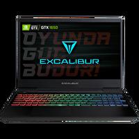 "Casper Excalibur G770 Intel 10.Nesil i7-1075 32GB RAM 1TB+128 SSD 4GB GTX1650 15.6"" Win 10 Home Gaming Notebook"